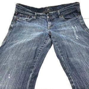 NY&C Platinum Size 12 Medium Denim Wash Jeans